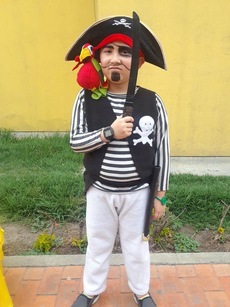 Disfraz pirata #AnyelikoCreaciones
