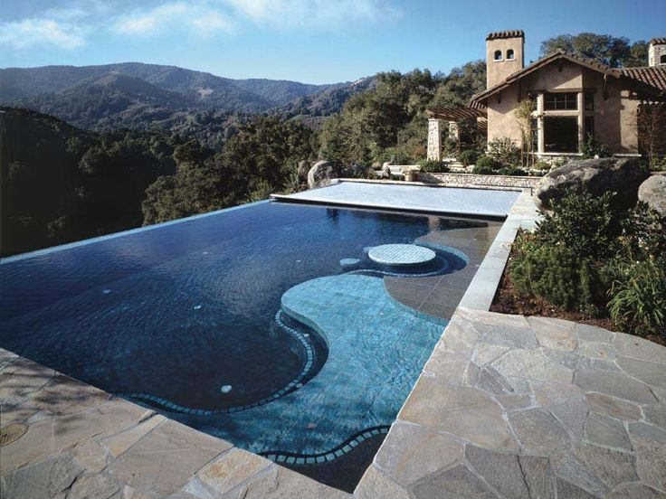 Someday when i 39 m famous i want a vacation home in colorado with an infinity pool over looking - Infinity edge swimming pool ...
