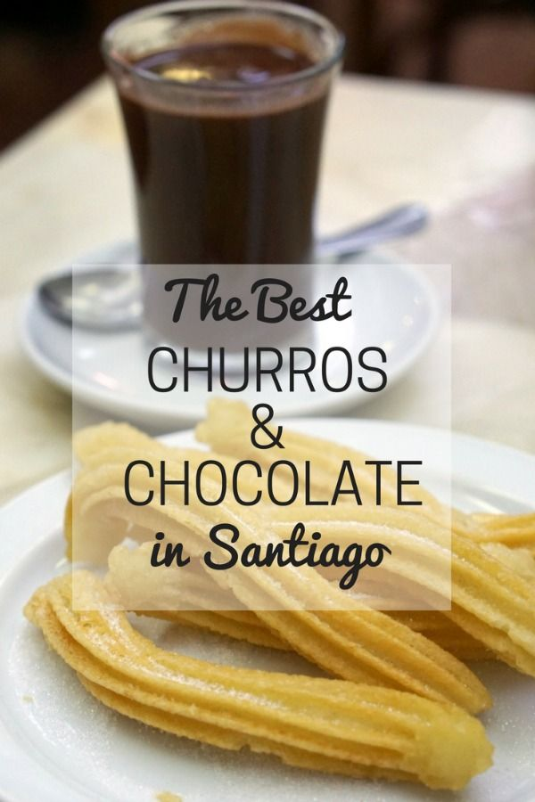 Craving a delicious treat in Galicia? Here's where to find the best churros and chocolate in Santiago! devourgaliciafoodtours.com