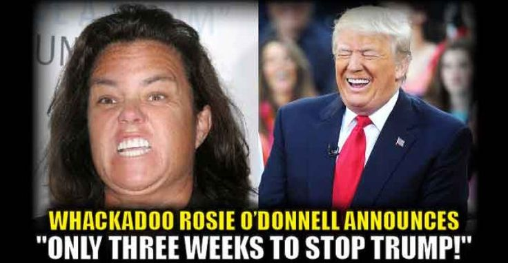 """They just can't give it up, can they? Rosie O'Donnell is calling Trump """"mentally unstable"""" and holding out for hope that in three weeks they can stop him from taking office. What a joke! Watch the video: Rosie O'Donnell calls Donald Trump mentally unstable – and says there is only three weeks to stop him pic.twitter.com/hOAGRwzf5e — FOX & friends (@foxandfriends) January 2, 2017 Support the Trump Presidency and help us fight Liberal Media Bias. Please LIKE and SHARE this story on Fa..."""