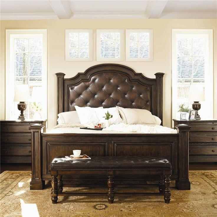 Normandie Manor King Bedroom Group from Bernhardt