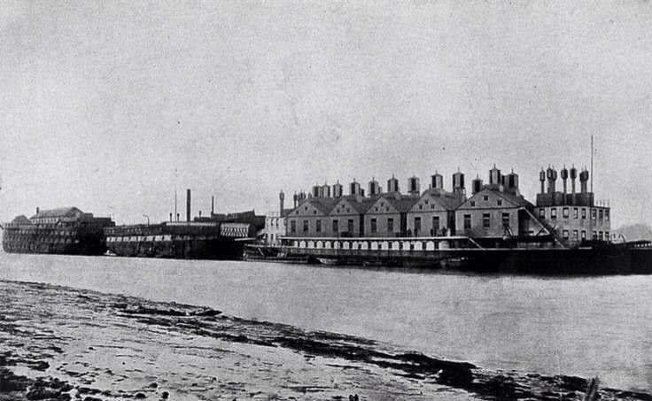 Smallpox hospital ships Deptford
