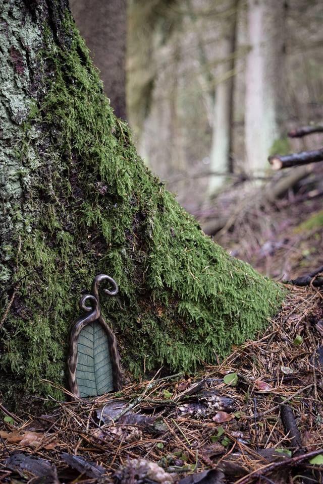 25 best ideas about deck around trees on pinterest tree for Outdoor fairy doors australia