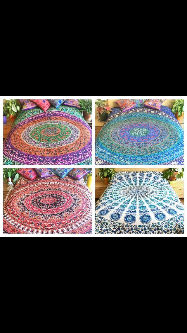 Love mandala sheets! ❤️