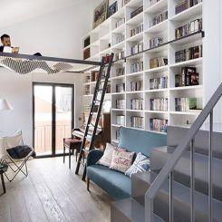 Você gosta de ler? Então precisa ver esta casa projetada para amantes de livros
