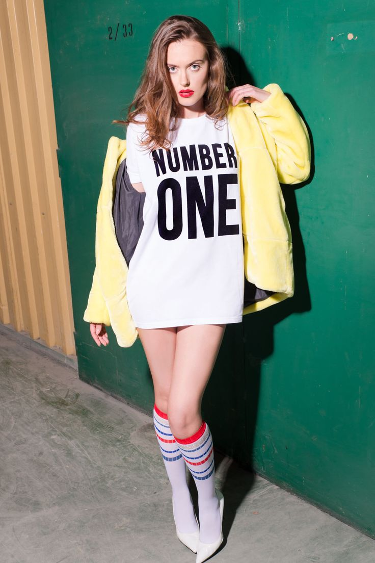 women's tshirt NUMBER ONE <3 oversized tee. Good quality. In stock. Check ! hypeattack.co