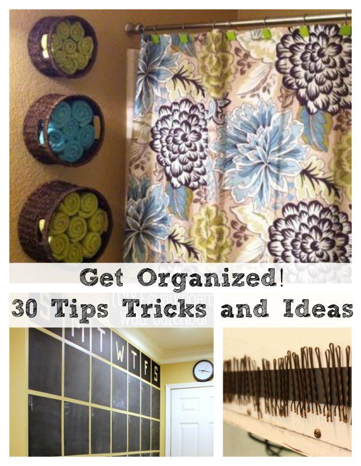 30 Home Organization Tips, Tricks and Ideas | DIY Cozy Home
