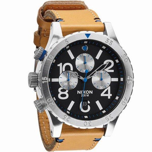 Reloj nixon the 48-20 chrono leather a3631602 - 350,00€ http://www.andorraqshop.es/relojes/nixon-the-48-20-chrono-leather-a3631602.html