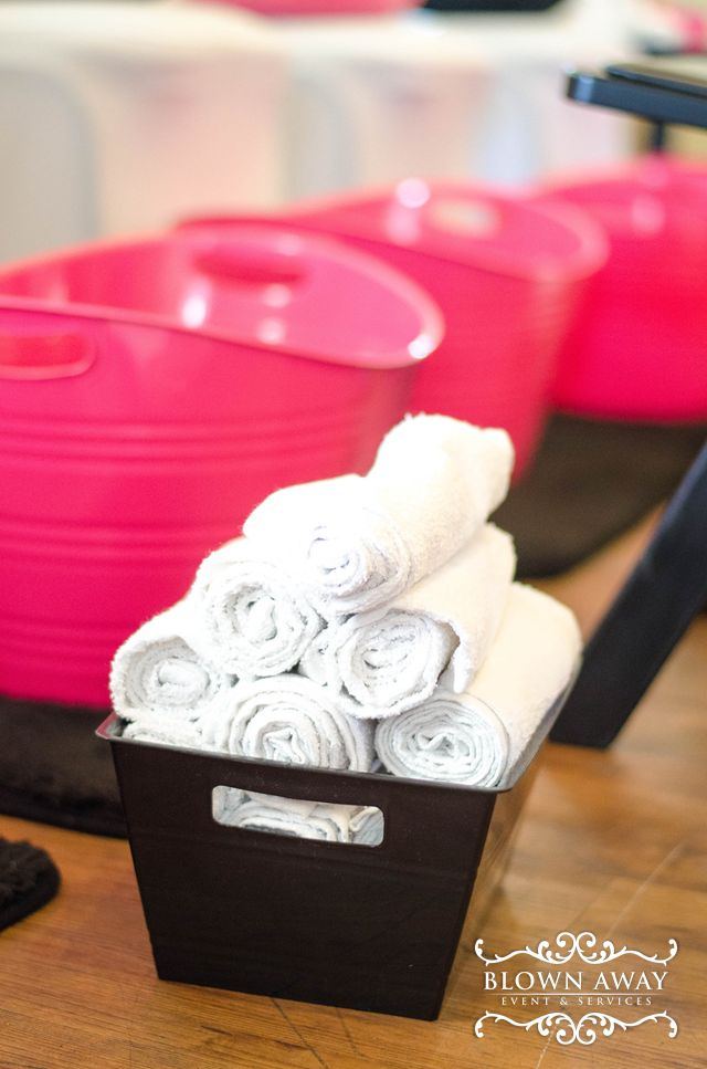 Spa Party Birthday Party Ideas | Photo 1 of 64 | Catch My Party