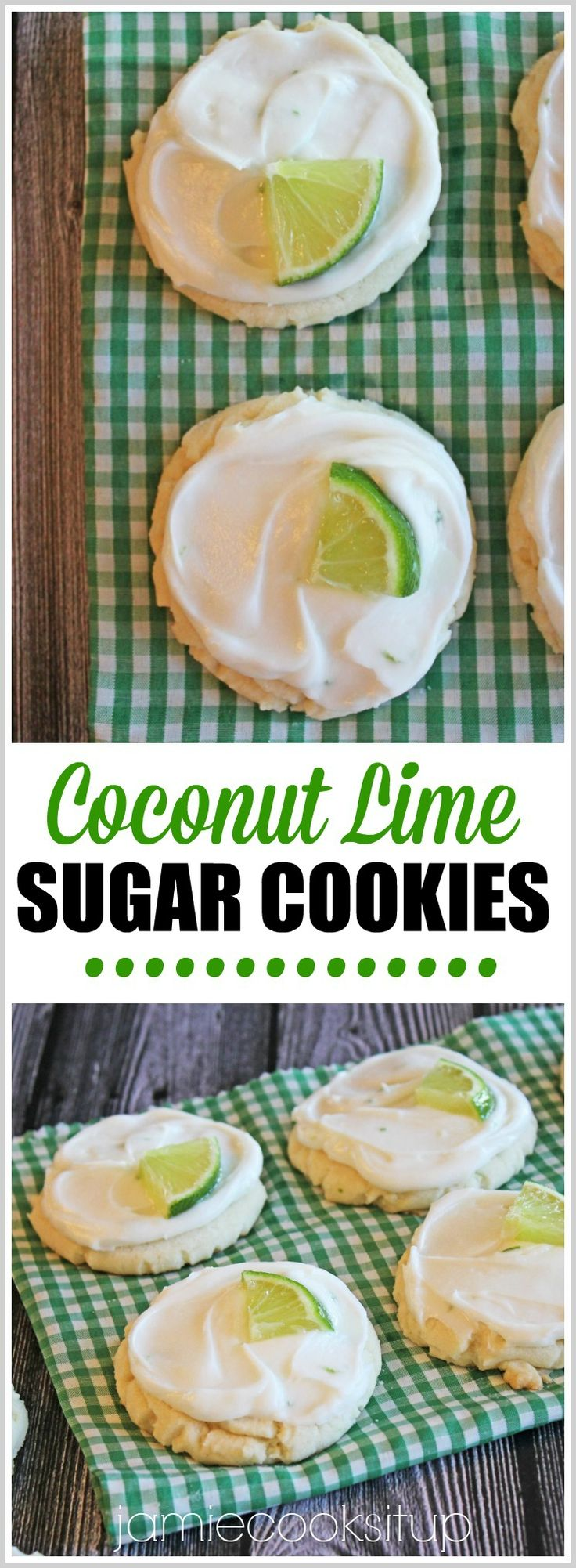 If I could choose my favorite, most epic flavor combination of all time…it would be Coconut and Lime. The two just speak to me, seriously! These Coconut Lime Swig Sugar Cookies are my latest …
