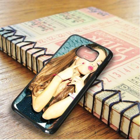 Ariana Grande Sexy Kiss Samsung Galaxy S6 Edge Case