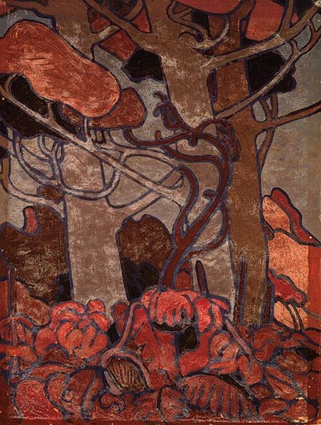 Cave to Canvas, Tom Thomson, Forest Undergrowth I, 1916