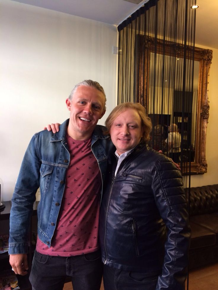 Jimmy Bullard. Hair styled at Matthew David Bespoke, Mayfair, London