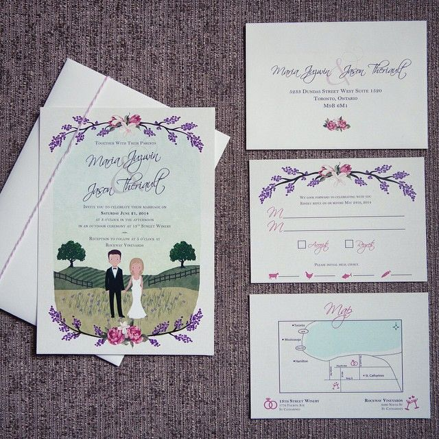 50 best library related wedding invitations images on pinterest adorable custom created illustration for maria and jasons wedding invitations thanks lo for all your design help stopboris Image collections