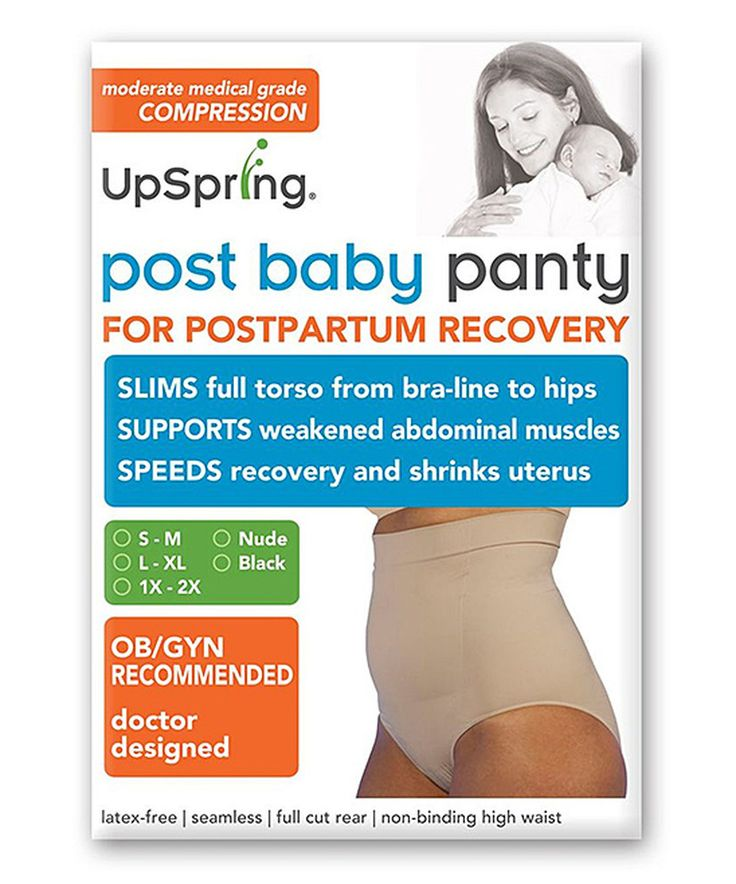 Another great find on #zulily! UpSpring Baby Nude High-Waist Postpartum Recovery & Slimming Briefs - Plus Too by UpSpring Baby #zulilyfinds
