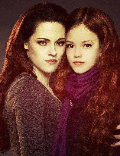 Breaking Dawn part 2 ~ Bella and Renesmee