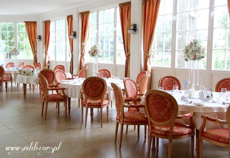 Pałac Staniszów - romantyczna, vintage dekoracja