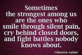 So true.....and those are usually the least appreciated.  Give a hug today.