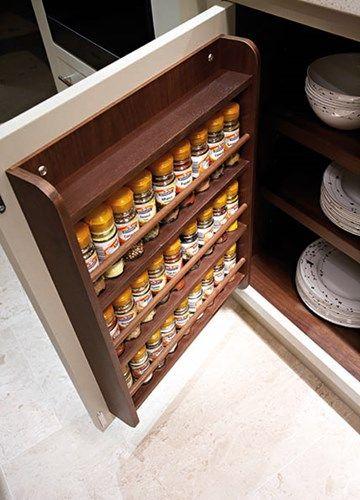 Love this spice storage idea| Tom Howley