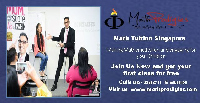 Math prodigies coaching center which provides coaching of mathematics subject in Singapore. For more details visit us: http://www.mathprodigies.com/