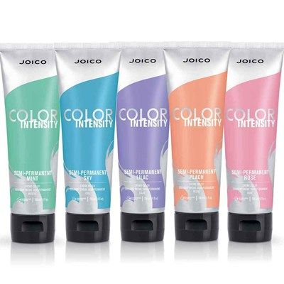 Joico Color Intensity Confetti Collection is an explosion of fun, candy-colored semi-permanent shades that transform every mane into a reason to celebrate.