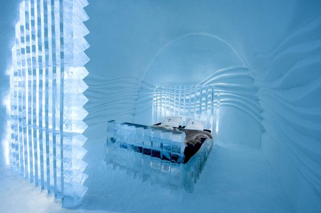 北欧スウェーデンにある、全て氷でできた幻想的なアイスホテル - まぐまぐニュース!