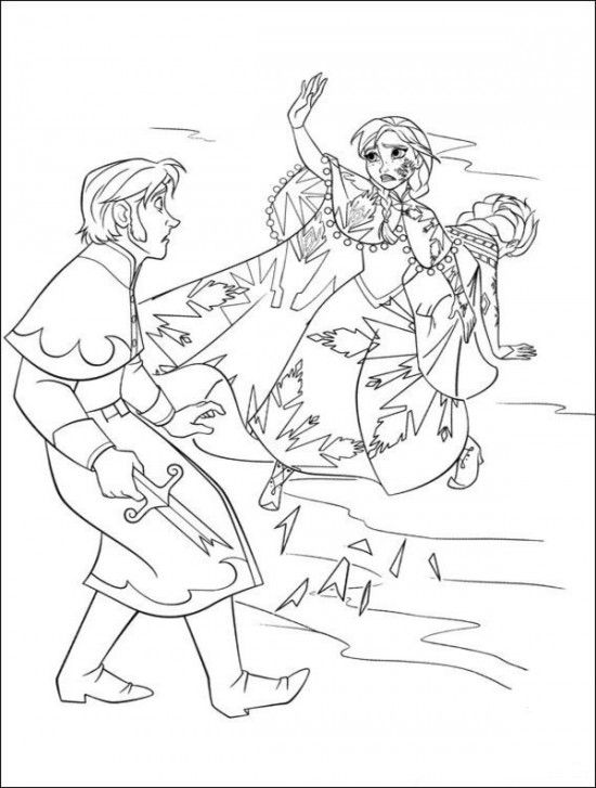 35 FREE Disneys Frozen Coloring Pages Printable 1000 Free