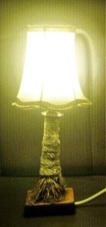 Lampu Akar Bambu