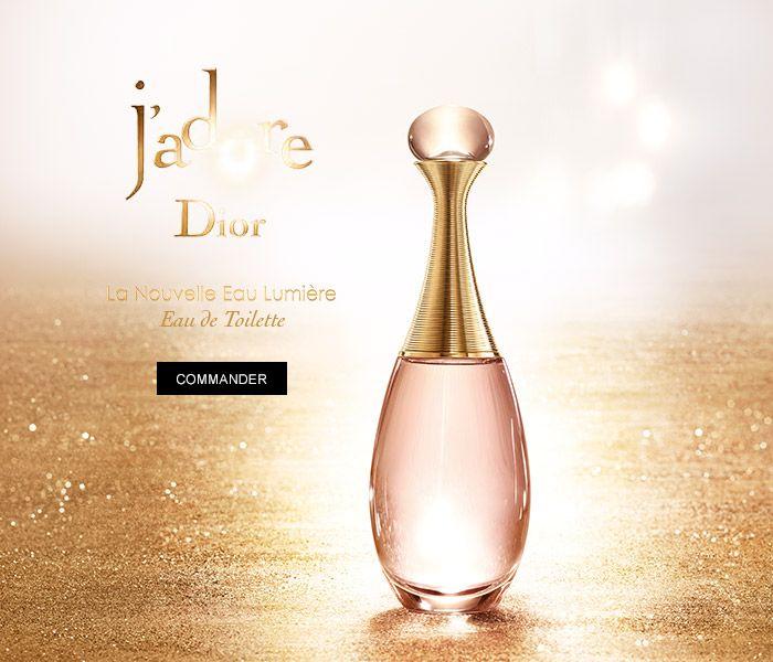 Jadore Dior. La Nouvelle Eau Lumière,  Eau de Toilette. Commander