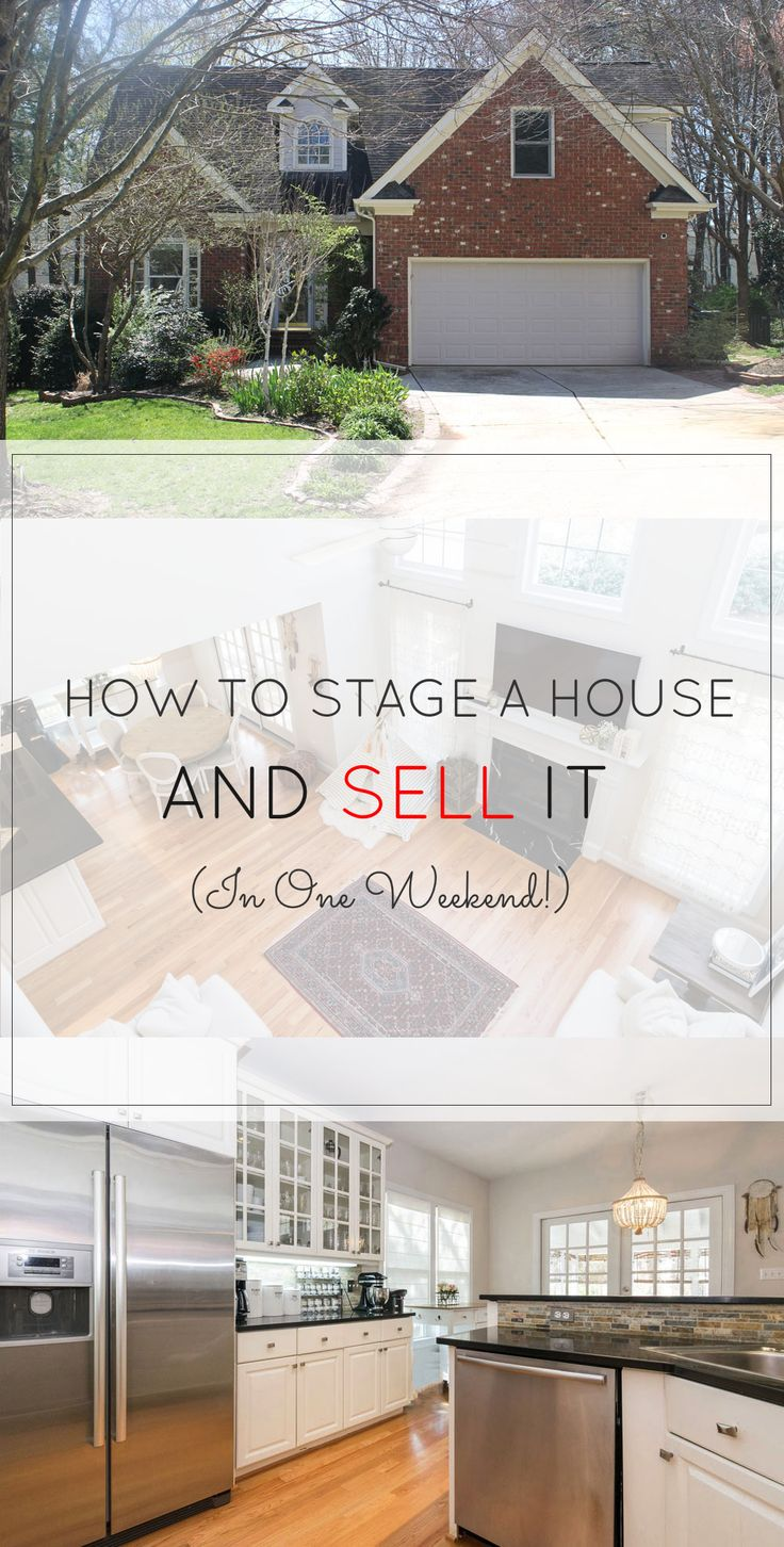 How to Sell Your Home in One Weekend - Glitter, Inc. ⋆ Bowie Real ...