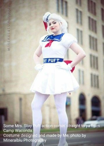 Stay Puft Cosplay