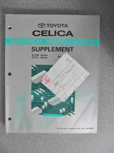 29 best celica!!!! images on pinterest toyota celica, autos and 02 solara wiring diagram for radio toyota celica electrical wiring diagram manual supplement 1991 listing in the toyota,car manuals & literature,cars & trucks parts & accessories,cars