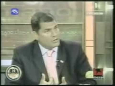 Rafael Correa deja  boca abierta a periodistas de Miami