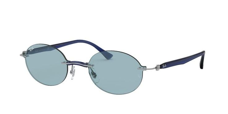 Ray-Ban RB8060 Oval Sunglasses are unmistakable, and their popularity is unmatched. Ray-Ban Oval Sunglasses is a signature Ray-Ban Sunglasses Oval. Designed to perfectly fit Unisex, these Ray-Ban RB8060 Oval Sunglasses will certainly make you stand out. Whether you are looking to make a statement or just to own some of the best possible Sunglasses available today then Ray-Ban RB8060 Oval Sunglasses is for you. Materials and craftsmanship meet cutting edge style and popular trends to create a… Burberry Sunglasses, Oval Sunglasses, Sunglasses Online, Ray Ban Sunglasses, Mirrored Sunglasses, Oakley Frames, Ray Ban Frames, Color Plata, Color Azul