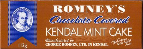 Romney's Chocolate Covered Kendal Mint Cake 3.98 oz / 113g - http://bestchocolateshop.com/romneys-chocolate-covered-kendal-mint-cake-3-98-oz-113g/