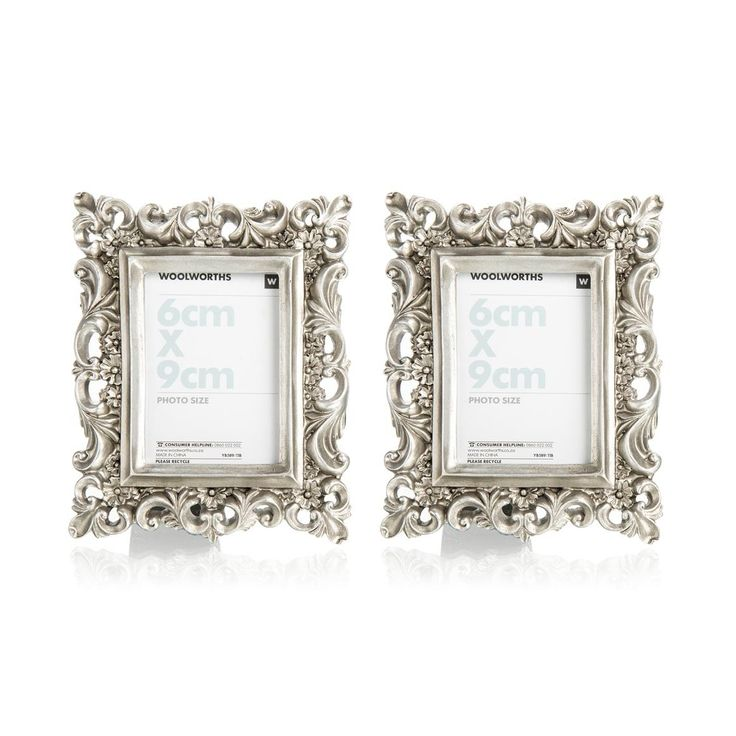 Resin Frames 2-pack