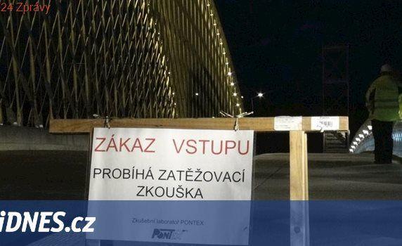 O víkendu se zavře most přes Novomlýnské nádrže kvůli zatěžkávací zkoušce