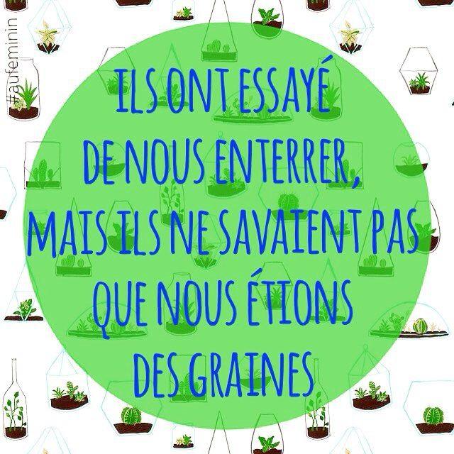Une citation sur la force de vie, l'optimisme, nécessaire après les attentats de Paris en nov 2015.