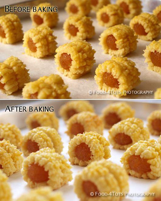 Homemade pineapple rolls (pineapple tarts)   Food-4Tots ...
