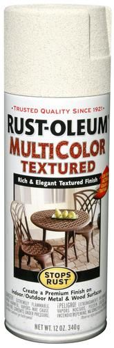 Rust-Oleum® Stops Rust® MultiColor Caribbean Sand Textured Spray - 12 oz at Menards®: Rust-Oleum® Stops Rust® MultiColor Caribbean Sand Textured Spray Paint - 12 oz