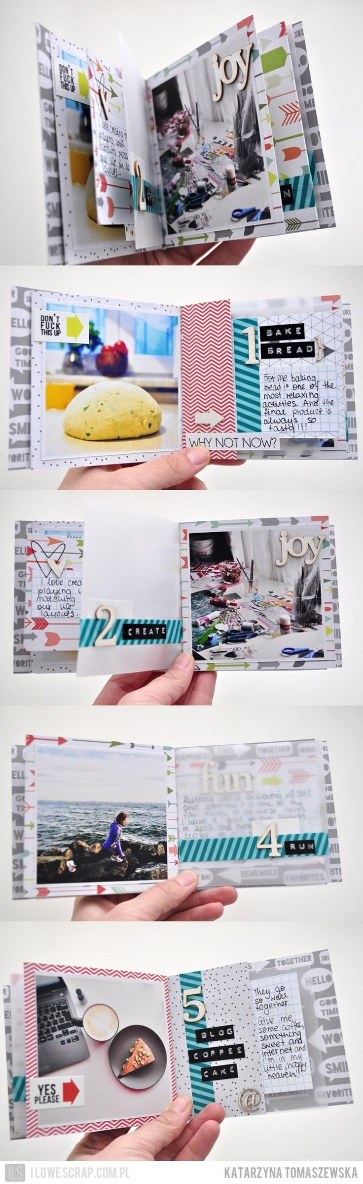 5 fav things mini book