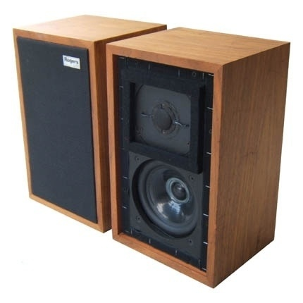 Rogers LS3 5a speakers. They made almost every other speaker sound nasal / coloured. This is how A Linn Kan should have sounded.