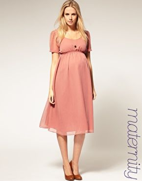 ASOS Maternity Midi Dress  $62.67 NOW $37.60  No, i'm not prego.