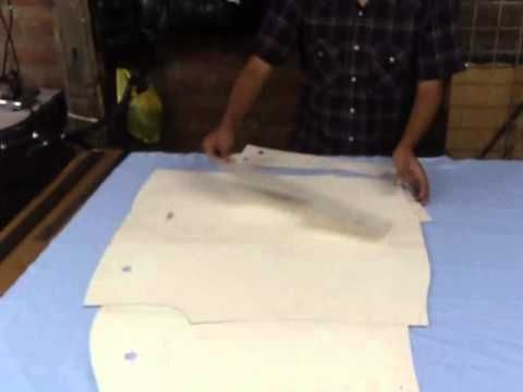 Como Cortar Una Camisa Parte 1 (el dibujo) - YouTube