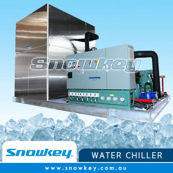 Snowkey Water chiller: ICW240 Design condition of ICW Concrete Cooling Systems: Max. Temperature: 60; Wet-bulb temperature: 30; Water-in temperature: 46; Water-out temperature: 0.5 Power supply: 3P/380V/50Hz; Run time: 24hours Refrigerant: R22\R404A\R717  Read more about our products and services: http://snowkey.com.au/  #snowkey #icemachine #icemachineaustralia #waterchiller