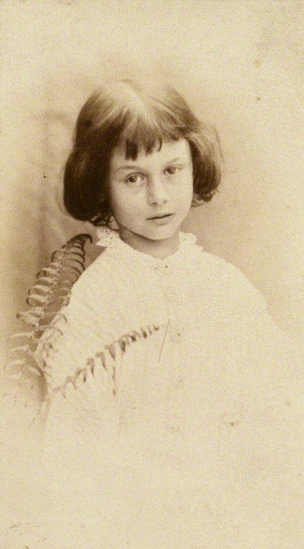 Alice Liddell by Lewis Carroll (Charles Lutwidge Dodgson), July 1860