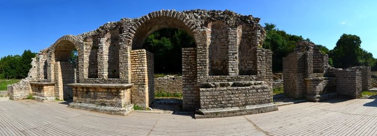 Albánie 2016 - Historické město Butrint