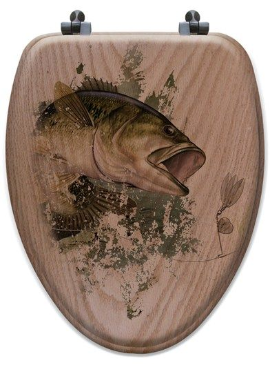 1000 images about bathroom stuff on pinterest for Fish toilet seat