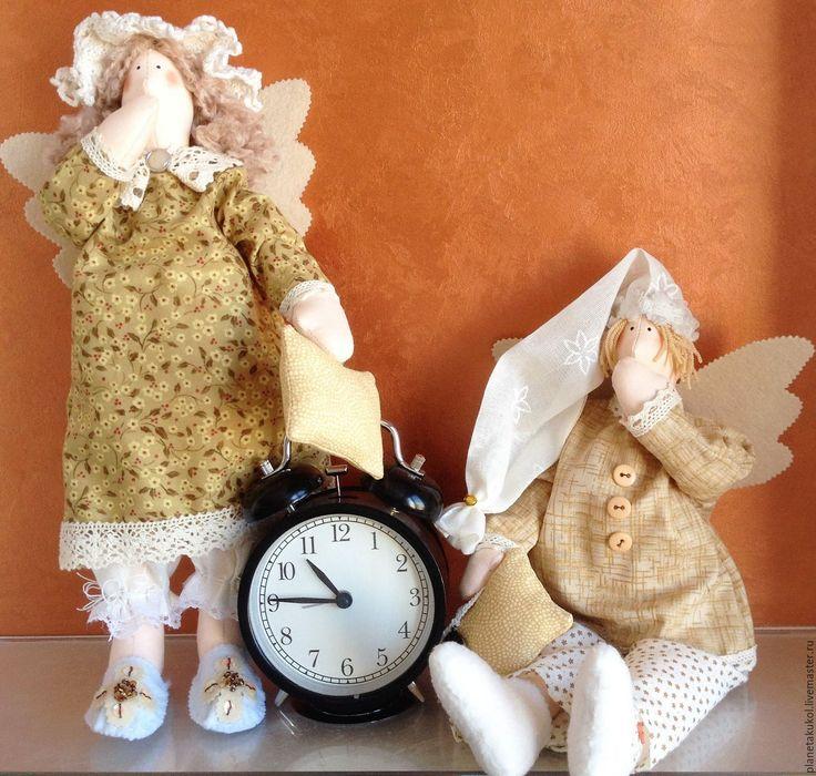 Купить ангелы счастливы вместе - сонный ангел, подарок на годовщину, Сплюшка…
