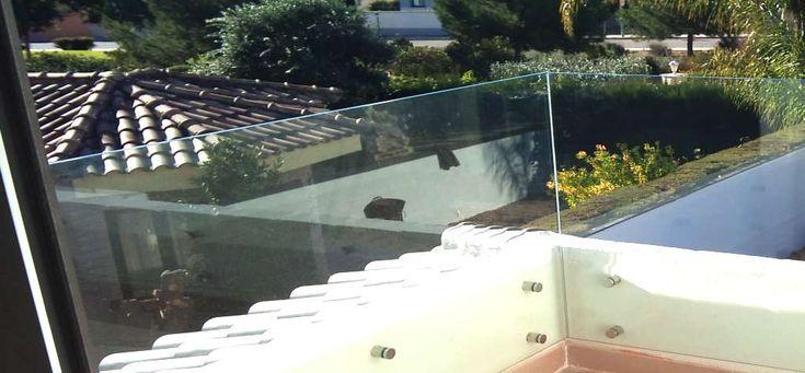 Barandas de vidrio para escalera malaga barandillas y - Barandas de terrazas ...
